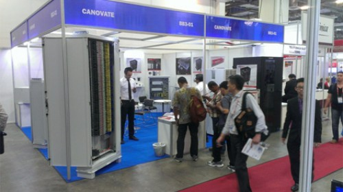 ZI-ARGUS joins Canovate at the CommunicAsia Exhibition in Singapore <br>17 – 19 June